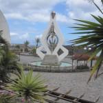 В столице острова, городе Санта Крус