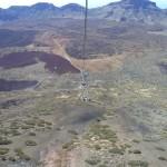 На вершину вулкана туристы добираются на фуникулере.