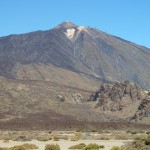 Этот вид на вулкан открывается еще на подъезде к нему