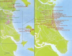 Карта Нья Чанга